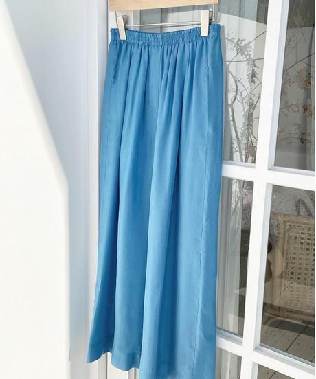 color satin pants  (3color)