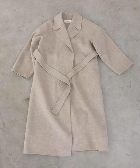 original  handmade coat (oatmealbeige)