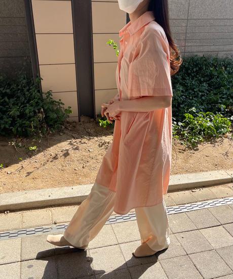 Aline Shirts Dress (3color)