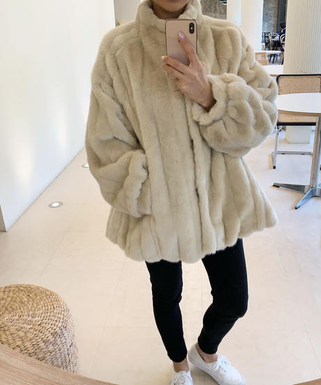 Eco Fur Jacket (3color)
