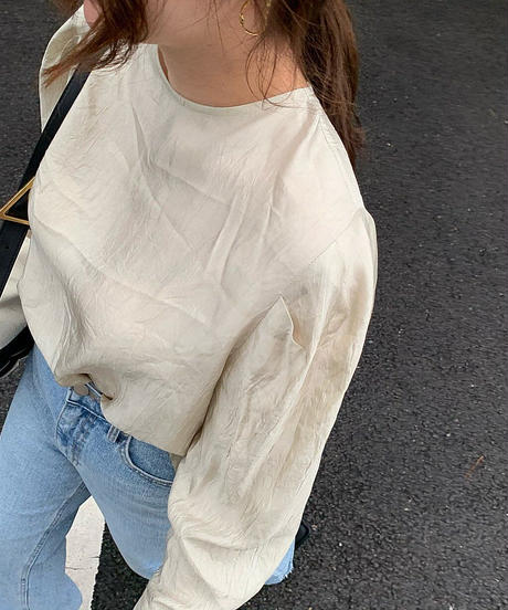2wayWrinkle blouse (3color)