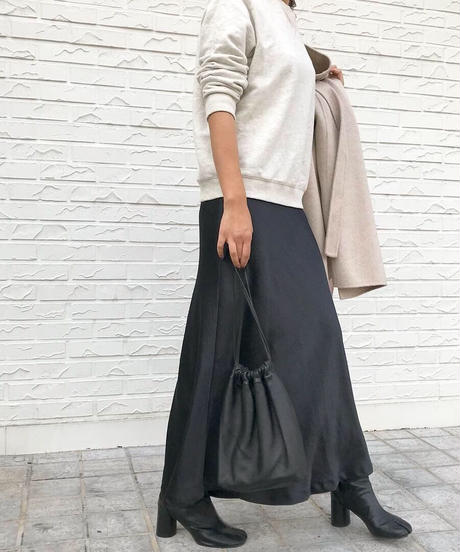 satin skirt  (6color)