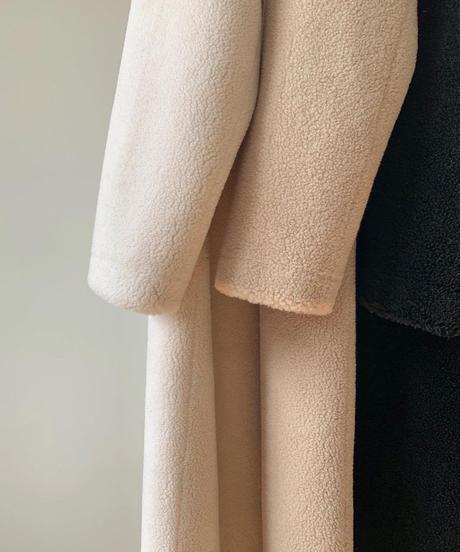 Nocollar Boa coat (3color)
