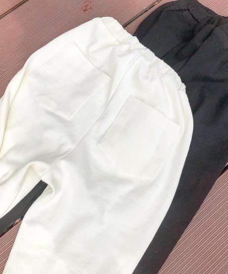 cut rib leggings