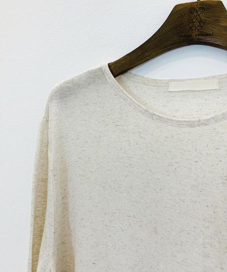 linen loose long T  (4color)