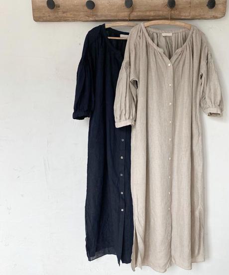 【Original】 linen  2way onepiece (2color)