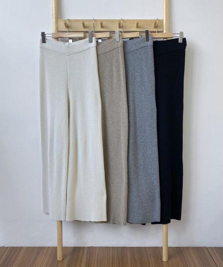 Knit lib Pants(4color)