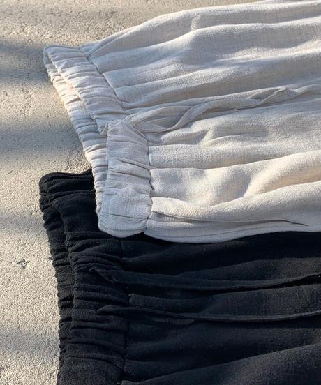 Basic linen pants (2color)