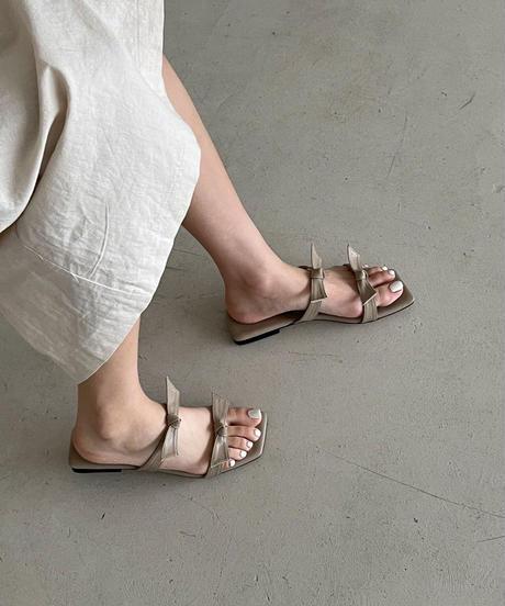 ribon sandal  (3Color)