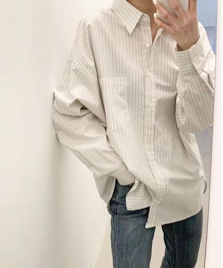 Stripe shirt (3color)