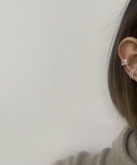 (Silver925)   Wee earcuffs