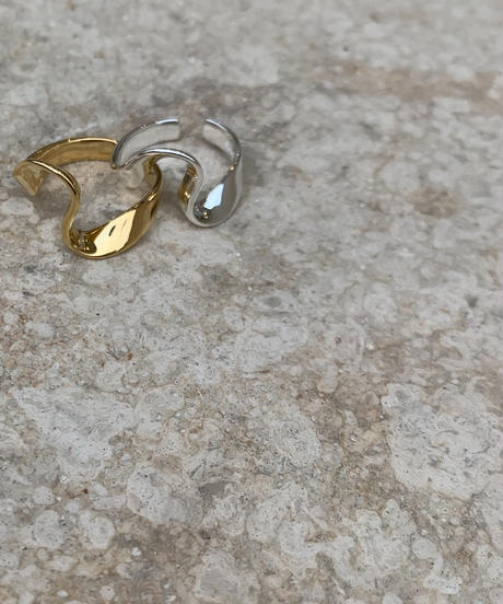(Silver925)   Wave ring