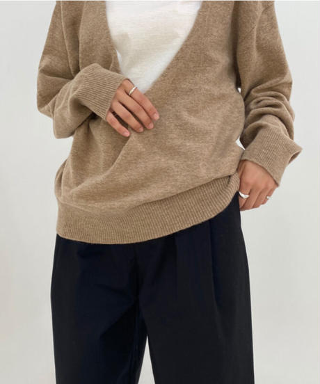 V knit (4color)
