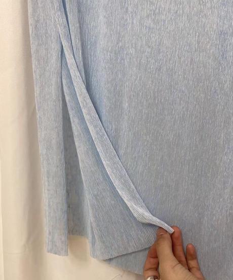See-through Pleats LongOPS (2color)