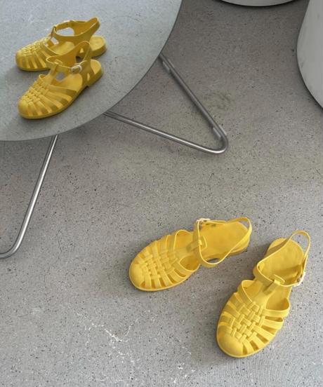 Jelly sandal (8color)