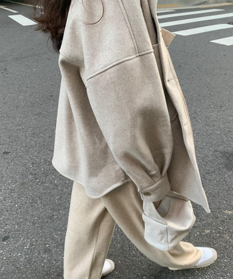 Boyfriend shirt Jacket (2color)