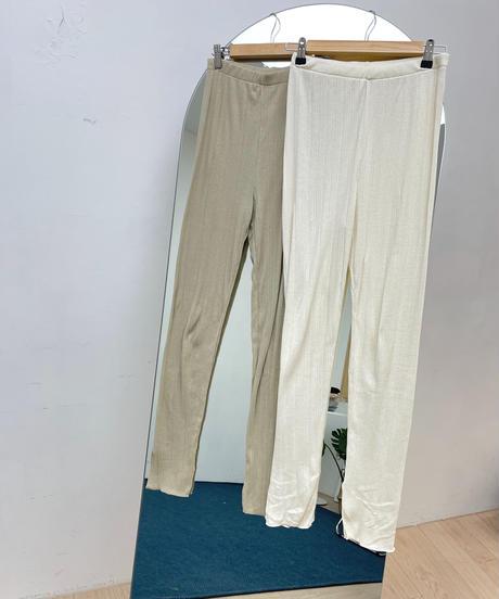 【original】rib leggings setup (2color)
