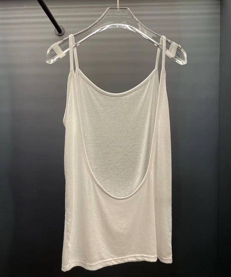 Back open cami (2Color)