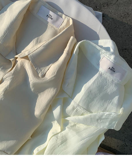 Pocket Silky shirts (2color)