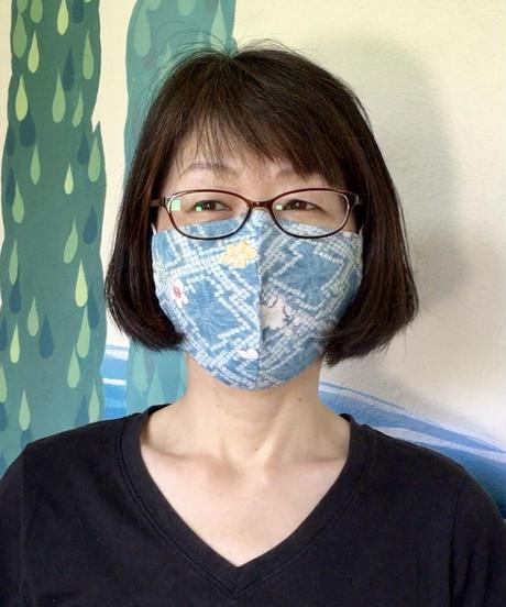 息らくらく絹マスク