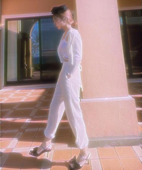 Cropped Cardigan + Jogger Pants