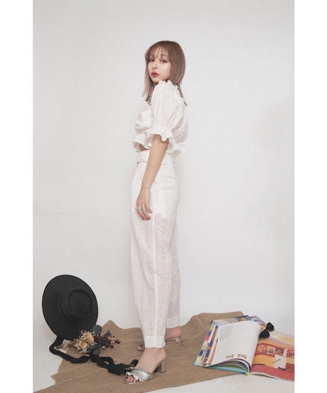Cotton Lace Pants