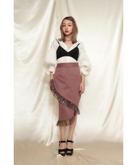 Film Frill Skirt フィルムフリルスカート