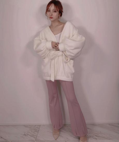 チャイナリボンスリットパンツ China Ribbon Slit Pants