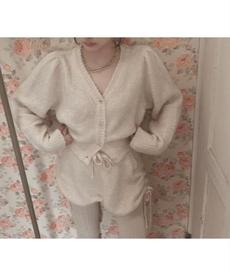 フロントクロスニットカーディガン / Front Cross Knit Cardigan