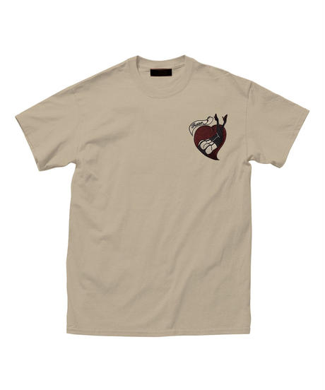 """MY HEART"" Embroidery T"