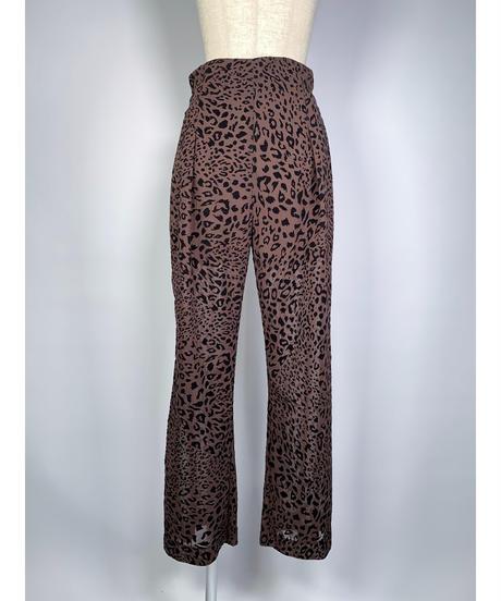 Leopard Sheer Pants レオパードシアーパンツ