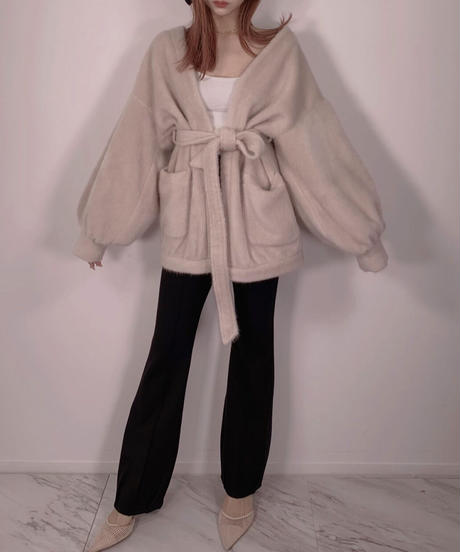 ボリュームスリーブガウン /  Volume Sleeve Gown