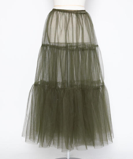 Tulle wrapped skirt