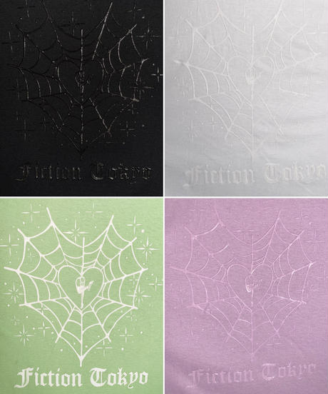 "Jelly Print ""Spider Web"" T ジェリープリントT"