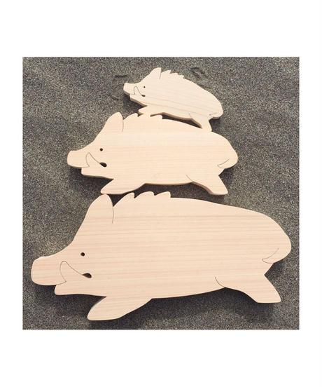 干支 - いのしし - pig -(S)