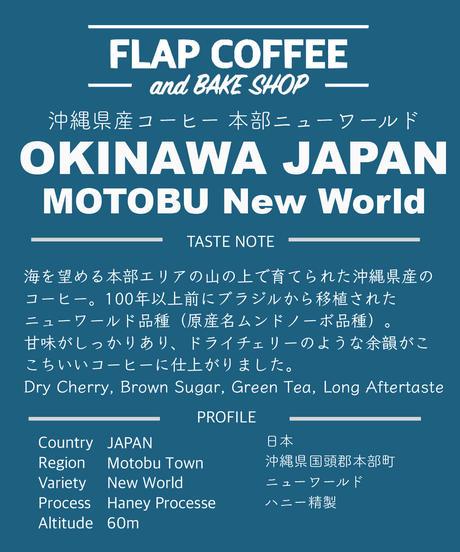 [100g]沖縄県産コーヒー本部ニューワールド