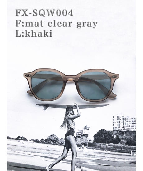 【4color】square wellington sunglasses