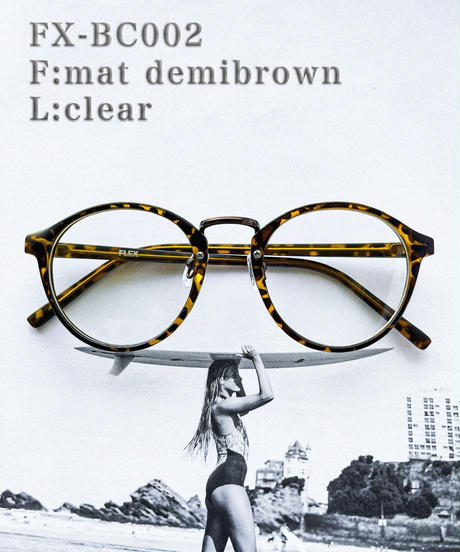 【5color】boston  clear sunglasses