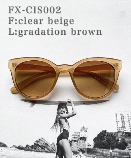 【3color】cat eye sunglasses
