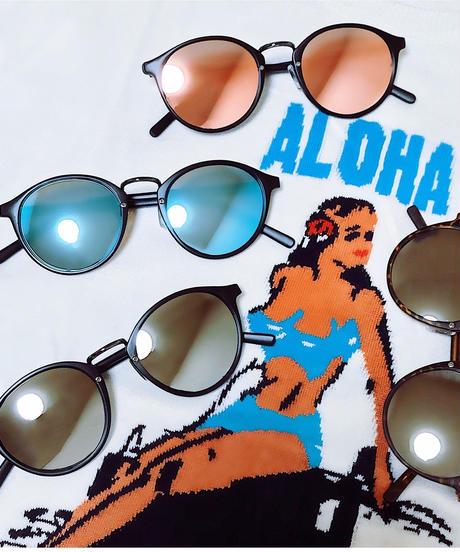 【4color】boston mirror sunglasses