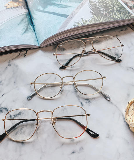 【5 types】clear lens collection