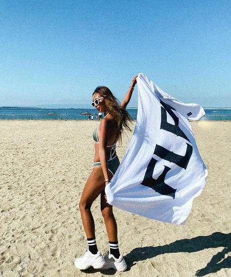 【2color】beach towel