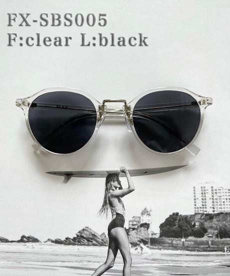 【2color】square boston sunglasses