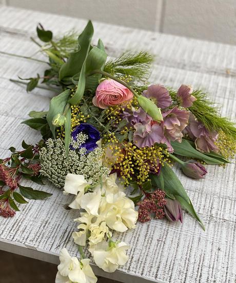 季節の花材セットS