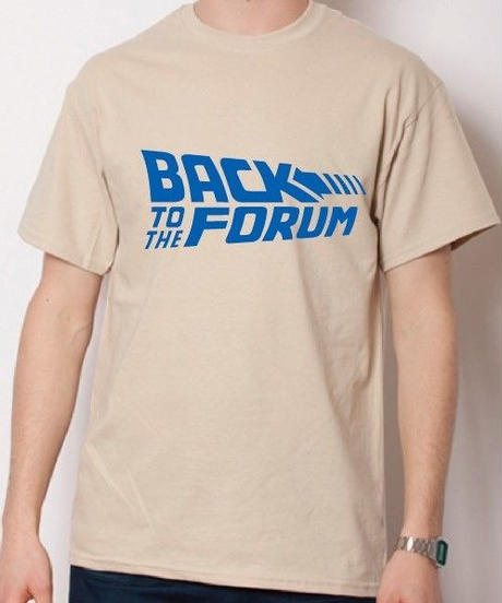 BACK TO THE FORUM/タン