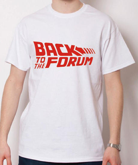 BACK TO THE FORUM/ホワイト
