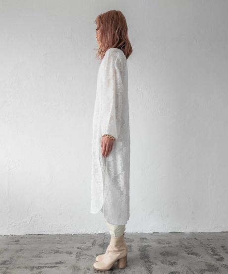シアーレースワンピース / WHITE