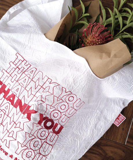 【OPEN EDITIONS 】 THANK YOU Tote / THANK YOU-Blue