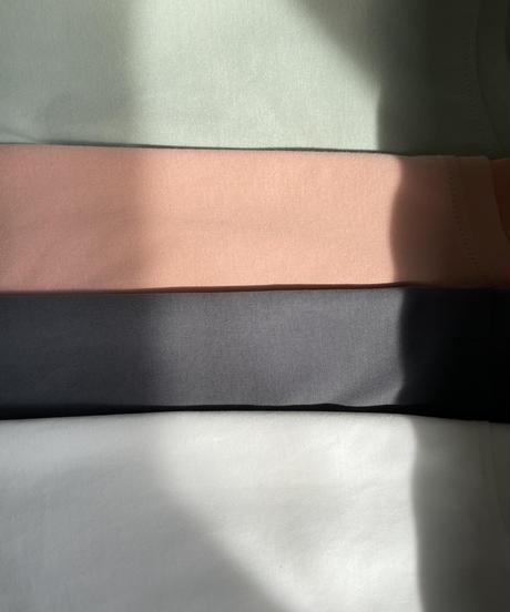 オーガニックコットンTシャツ / S.PINK