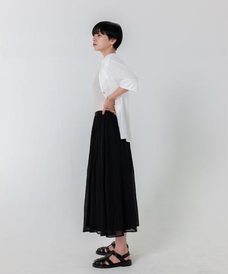 ケシプリーツスカート / BLACK